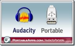 Slika 02 - Audacity portable